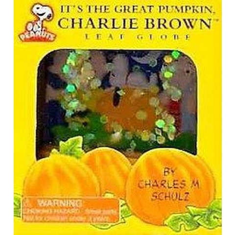 It's The Great Pumpkin, Charlie Brown Leaf Globe (Commemorative) (Mixed media product)