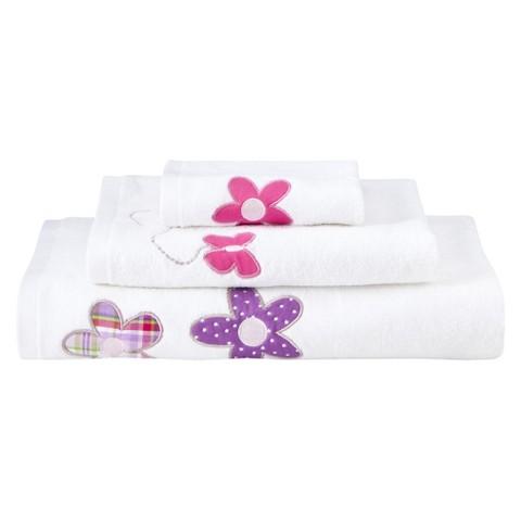 Circo™ Happy Flower 3-pc. Bath Towel Set