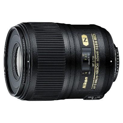 Nikon AF-S Micro Nikkor 60mm f/2.8G ED Zoom Lens - Black