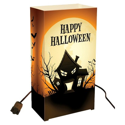 Electric Luminaria Kit - Haunted House (10 Ct)