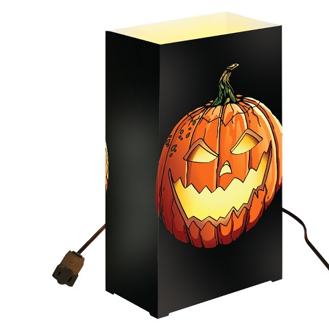 Electric Luminaria Kit - Black/Orange (10 Ct)