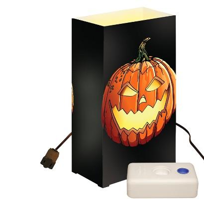 Electric Luminaria Kit - Black/Orange (10 Ct)