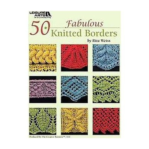 50 Fabulous Knitted Borders (Paperback)