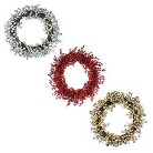 LED Berry Wreath Collection