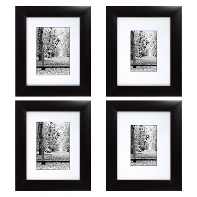 Portrait Frame 4 Pack - Black