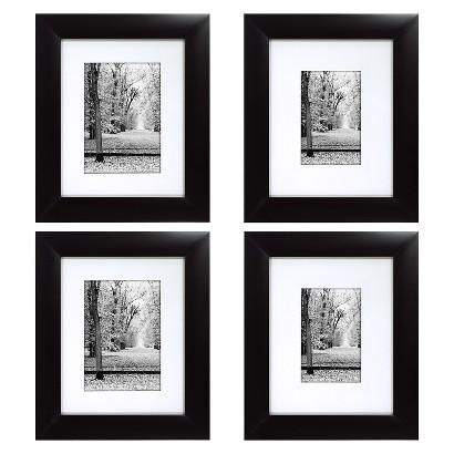 Portrait Frame 4 Pack - Black