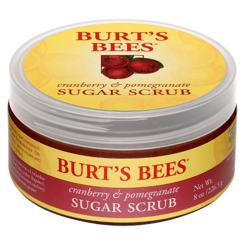Burt's Bees Cranberry & Pomegranate Sugar Scrub - 8 oz