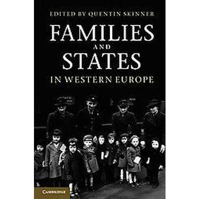 Families and States in Western Europe (Hardcover)