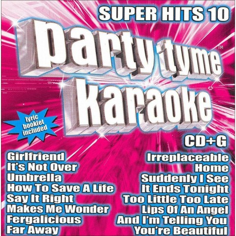 Party Tyme Karaoke: Super Hits, Vol. 10