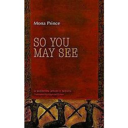 So You May See (Translation) (Hardcover)