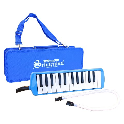 Schoenhut Piano 25 Key Melodica - Blue
