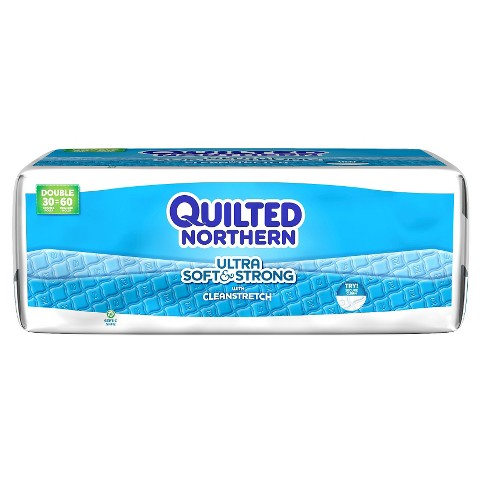 Quilted Northern Soft and Strong Unscented Bathroom Tissue - 30 Count
