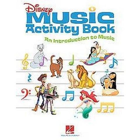 Disney Music Activity Book (Paperback)