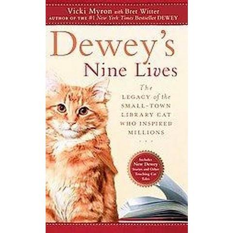 Dewey's Nine Lives (Large Print) (Paperback)