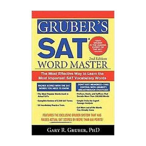 Gruber's SAT Word Master (Paperback)