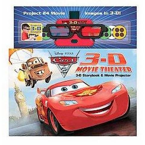 Disney - Pixar Cars 2 3D Movie Theater Storybook (Media Tie-In) (Hardcover)