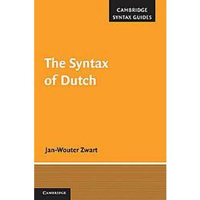 The Syntax of Dutch (Hardcover)