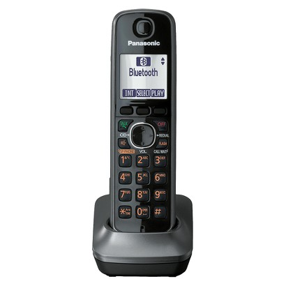 Panasonic DECT 6.0 Plus Digital Cordless Expansion Handset - Gray (KX-TGA660M)
