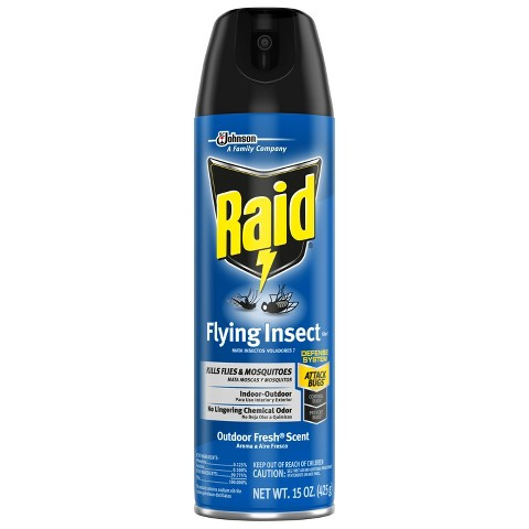 Raid® Flying Insect Killer Outdoor Fresh Scent 15 oz