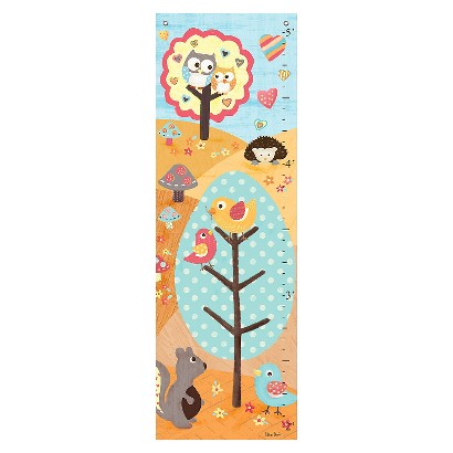 Oopsy Daisy too Love n Nature Yellow Growth Chart - 13x39""