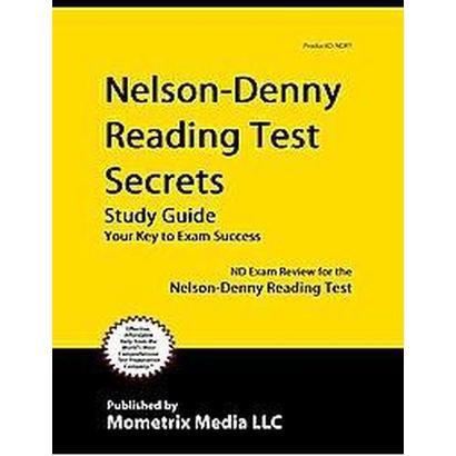 Nelson-Denny Reading Test Secrets Study Guide (Paperback)
