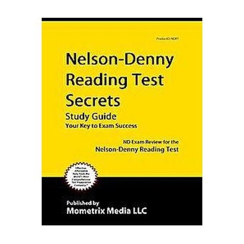 Nelson-Denny Reading Test Secrets Study Guide (Paperback)