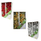 LED Poinsettia Flower Garland Collection