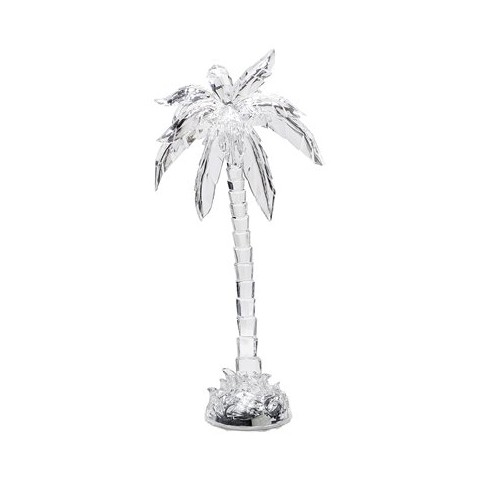 Acrylic Palm Tree Figure - Clear (15'')