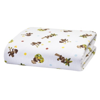 Crib sale target canada - Bedtime Originals Tan Brown And Green Curly Tails Sheet Product