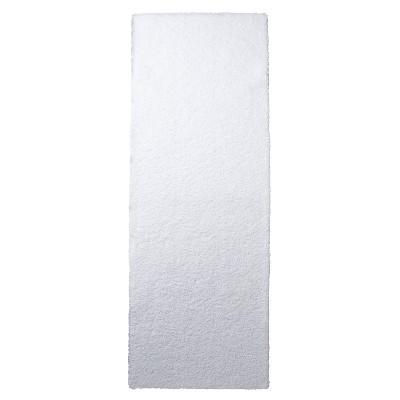 """Bath Runner - True White (60x22"""") - Fieldcrest™"""