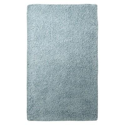 """Bath Rug - Aqua Spill (20x34"""") - Fieldcrest™"""