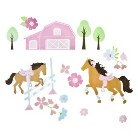 Circo® Pretty Horses Wall Decal