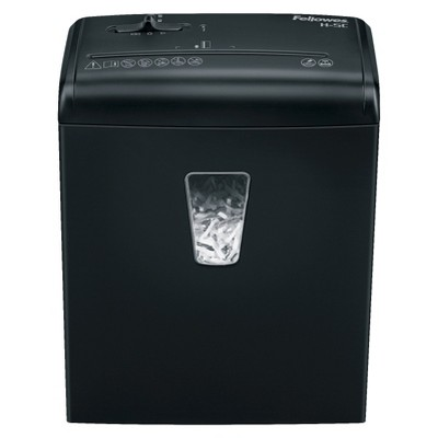 Fellowes 5 Sheet Cross Cut Shredder - Black (4682001)
