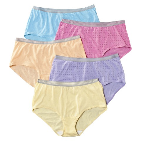 Fruit of the Loom® Women's Fit for Me Briefs 5-Pack