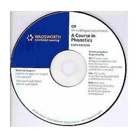 A Course in Phonetics (CD-ROM)