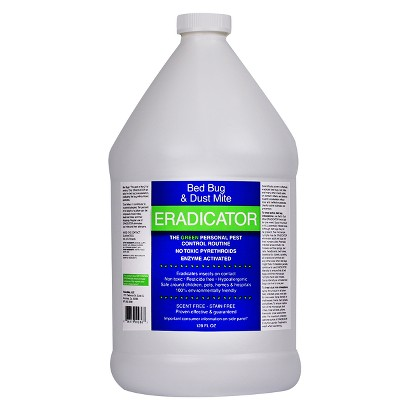 Eradicator Concentrate Bed Bug & Dust Mite Refill 128 oz