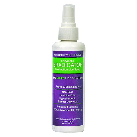Eradicator Natural Mint Lice Repellant Spray 8 oz