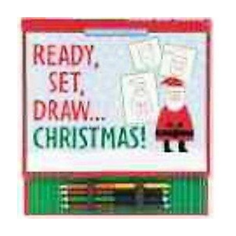 Ready, Set, Draw...Christmas! (Hardcover)