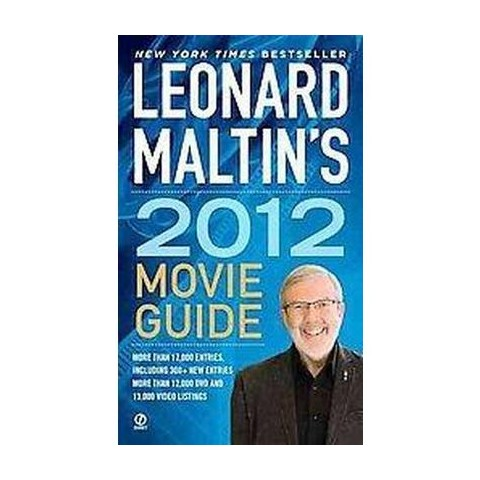 Leonard Maltin's Movie Guide 2012 (Original) (Paperback)