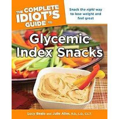The Complete Idiot's Guide to Glycemic Index Snacks (Paperback)