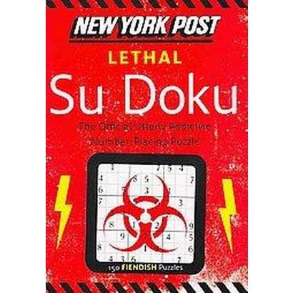 New York Post Lethal Su Doku (Paperback)