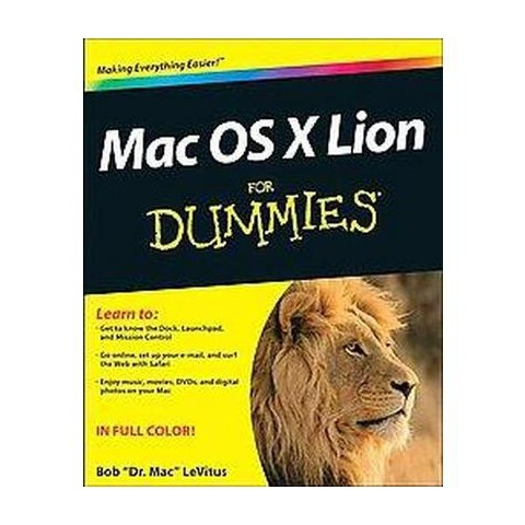 MAC OS X Lion for Dummies (Paperback)