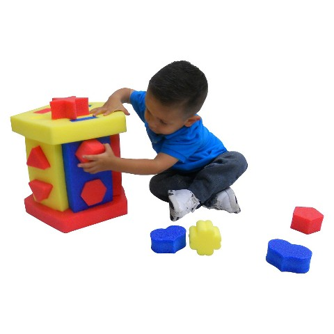 Kids Adventure Educational Shape Sorter and Chair