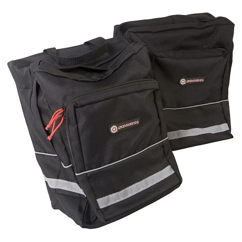 Schwinn Pannier Bike Bag - Black