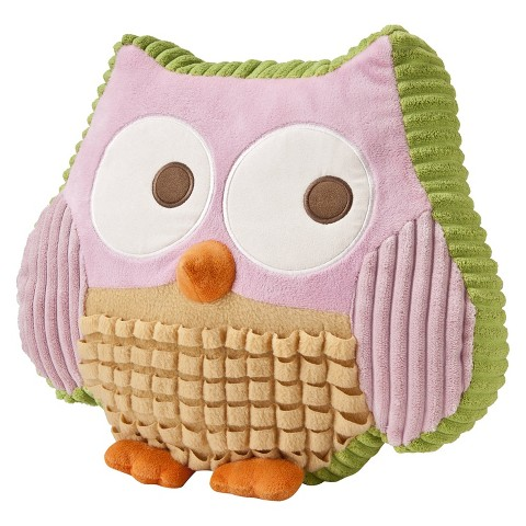 Love n' Nature Owl Pillow -Circo™