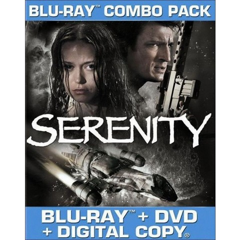 Serenity (2 Discs) (With Tech Support for Dummies Trial) (Blu-ray/DVD) (W) (Widescreen)
