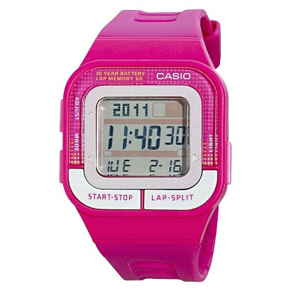 Casio Women's 60-Lap Sports Watch - Pink - SDB100-4A
