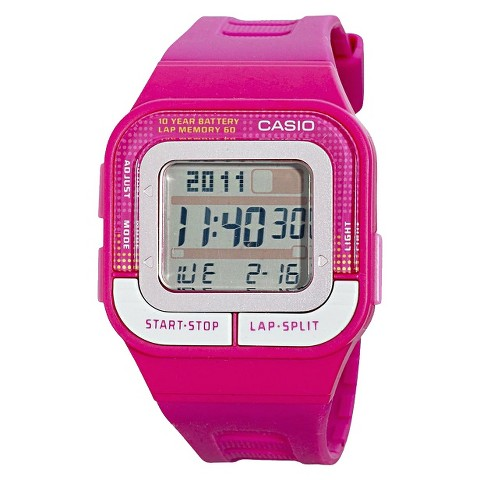 Casio Women's 60-Lap Sports Watch - Pink - SDB100-4A