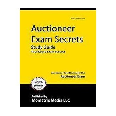 Auctioneer Exam Secrets Study Guide (Paperback)