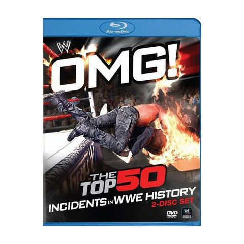 WWE: OMG! - The Top 50 Incidents In WWE History (Blu-ray)